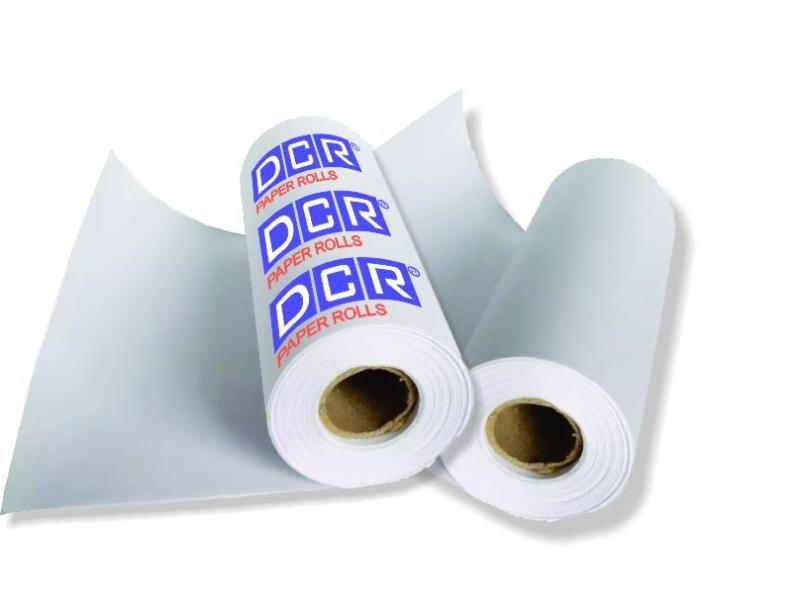 Bobina papel embrulho personalizado