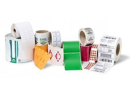 Etiqueta adesiva para ribbon
